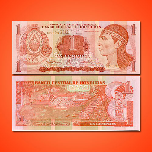 Mayan-Heritage-on-Honduras-Banknote
