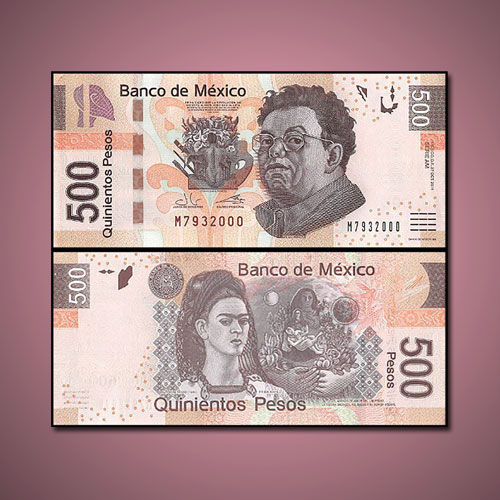 Mexican-Banknote-Honours-Mexico's-Most-Famous-Artist-Couple