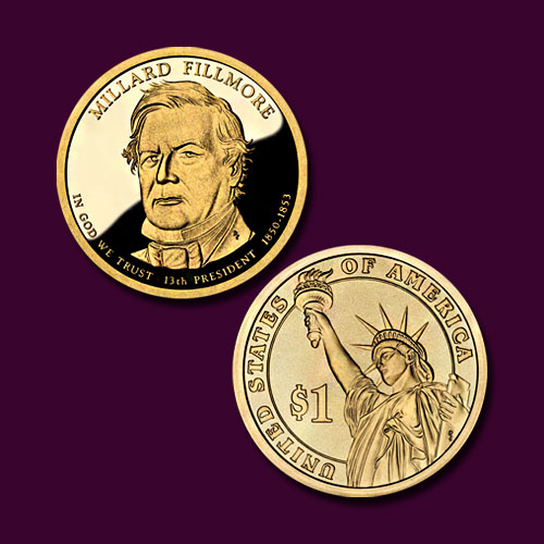 Millard-Fillmore-Commemorative-Coin