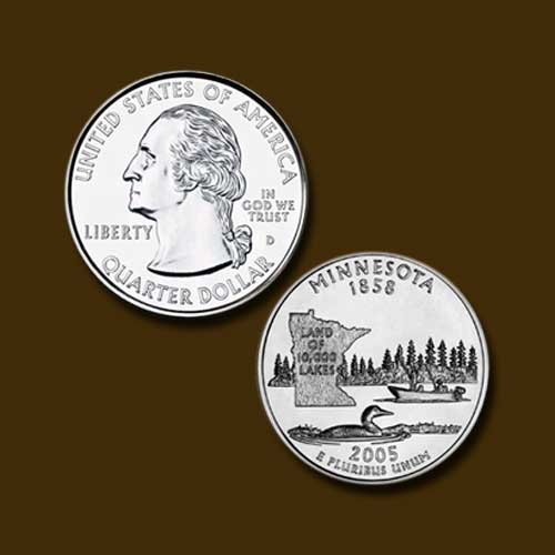 Minnesota-State-Quarter-Dollar