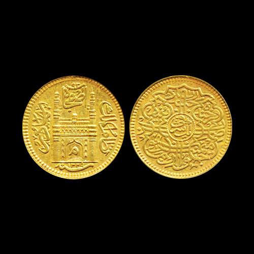Mir-Mahbub-Ali-Khan-II-Gold-Mohur-Sold-For-INR-1,50,000