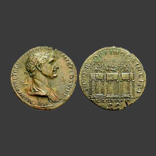 Monuments-of-Roman-coin-part-8:-Basilica-Ulpia