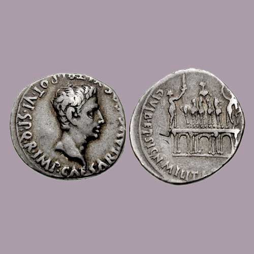 Monuments-on-Roman-coins-part-4:-Arch-of-Augustus