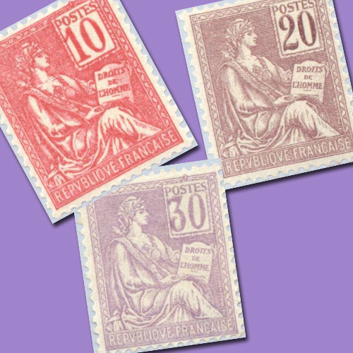 Mouchon-Stamps-of-France