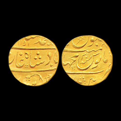 Muhammad-Shah-Gold-Mohur-Listed-For-INR-2,80,000