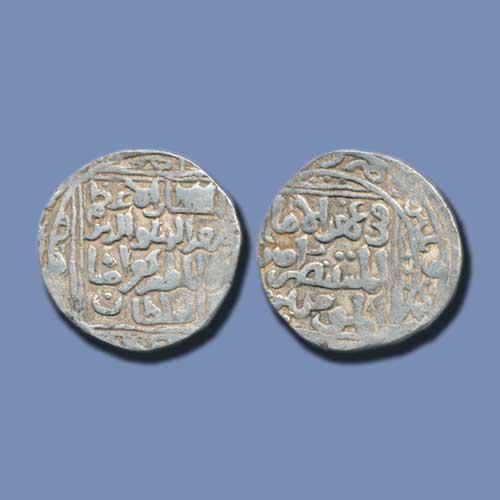 Muiz-Al-Din-Behram-Shah-Silver-Tanka