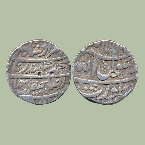 Murad-Bakhsh's-Silver-Rupee-Sold-for-INR-35,000