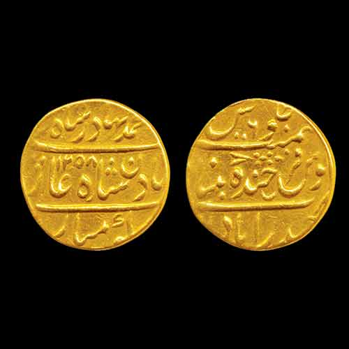 Nasir-ud-Daula-Gold-Mohur-sold-for-INR-52,500
