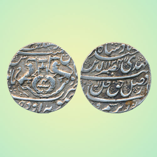 Nasir-ud-din-Haider-Silver-Rupee-of-Princely-State-of-Awadh