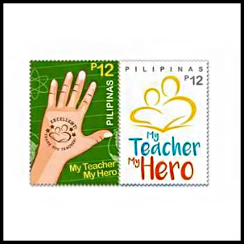 National-teacher's-month-celebrated-on-stamp
