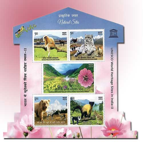 Natural-World-Heritage-Sites-of-India-on-Stamps