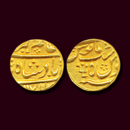 Nawab-of-Bengal's-Gold-Mohur-Sold-For-60,000