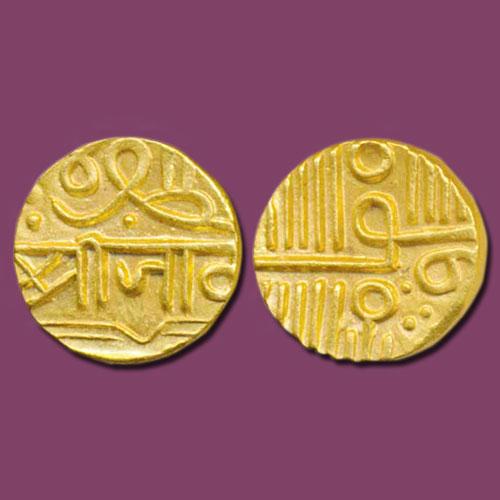 Nawanagar-Gold-Half-Kori-Sold-for-INR-90,000