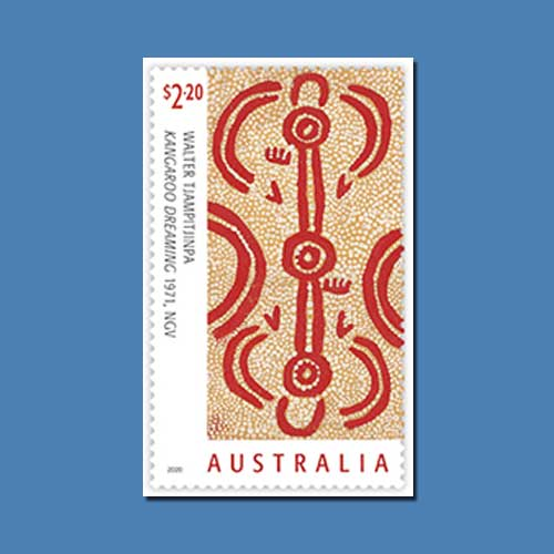New-Australian-Stamp-Features-Art-of-the-Western-Desert