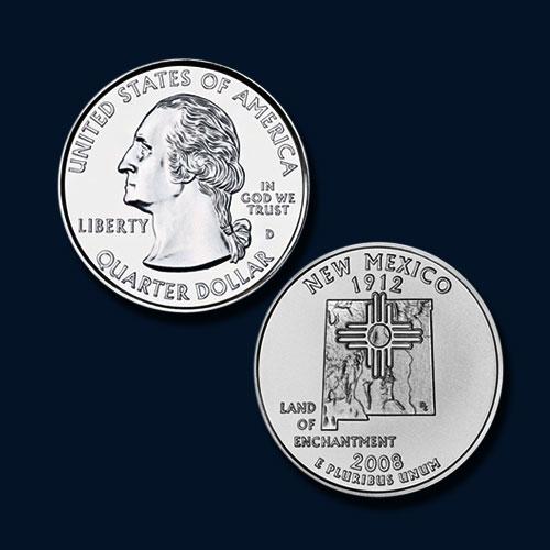 New-Mexico-State-Quarter-Dollar