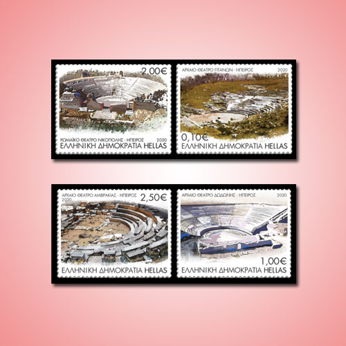New-Stamps-of-Greece-Depict-Unknown-Ancient-Theatres