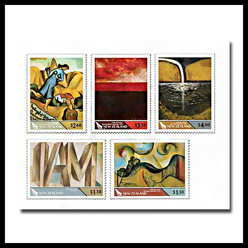 New-Zealand-devotes-stamps-on-Colin-McCahon