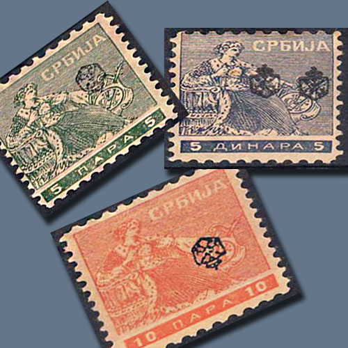 Newspaper-Stamps-of-Serbia