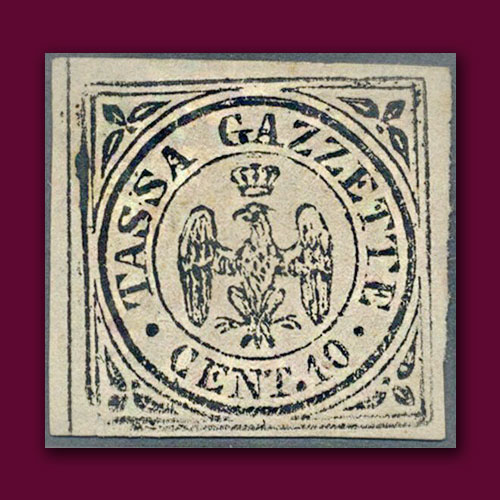 Newspaper-Tax-Stamp-of-the-Duchy-of-Modena