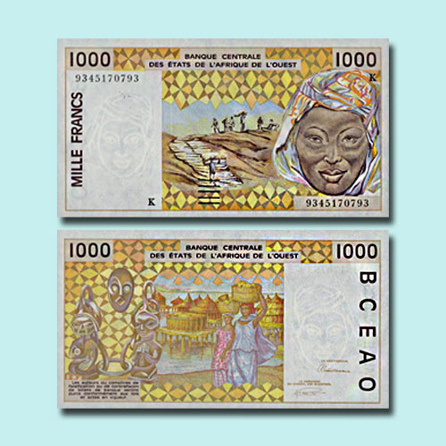 Niger-1000-Francs-banknote-of-1993