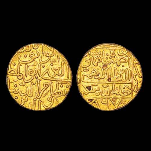 Nizam-Al-Din-Ahmad-Shah-III-Gold-Tanka