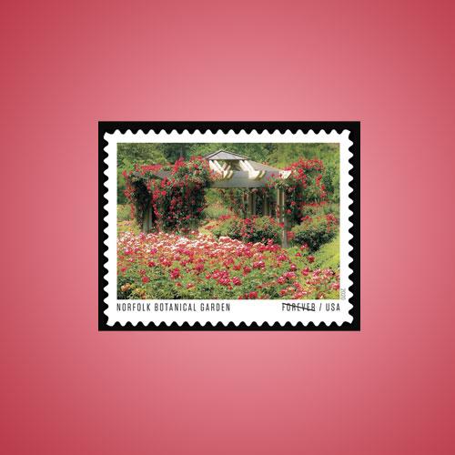 Norfolk-Botanical-Garden-Featured-on-U.S.-Forever-Stamp