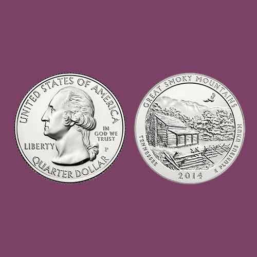 North-Carolina-Smoky-Mountain-on-Coin