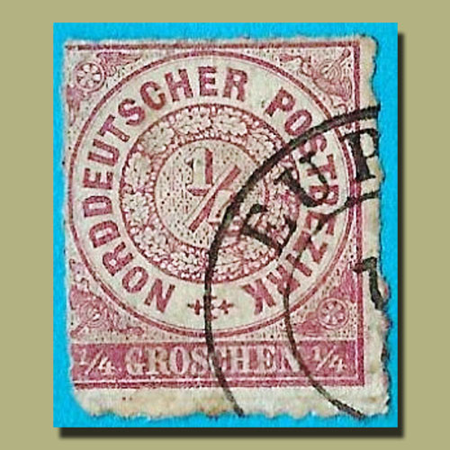North-German-Confederation-and-Its-First-Stamp
