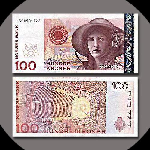 Norway-100-Kroner-banknote-of-2006