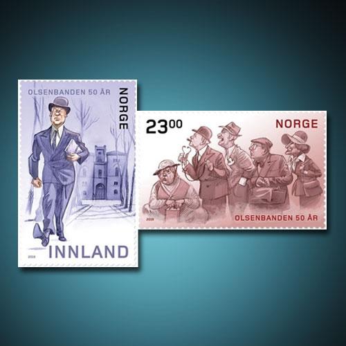 Norwegian-post-commemorates-50th-anniversary-of-Olsenbanden