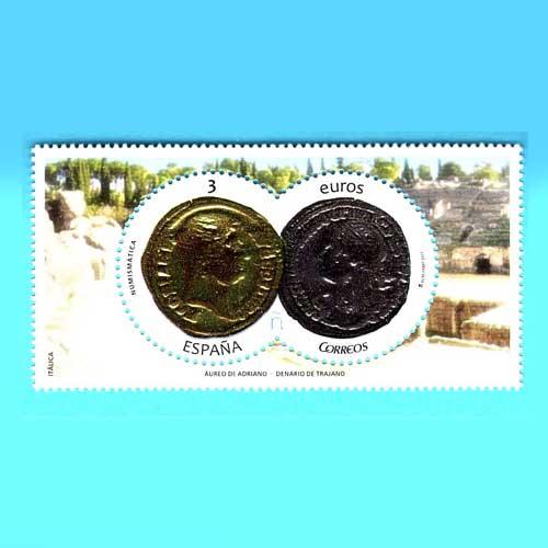 Numismatic-Stamp-of-Spain