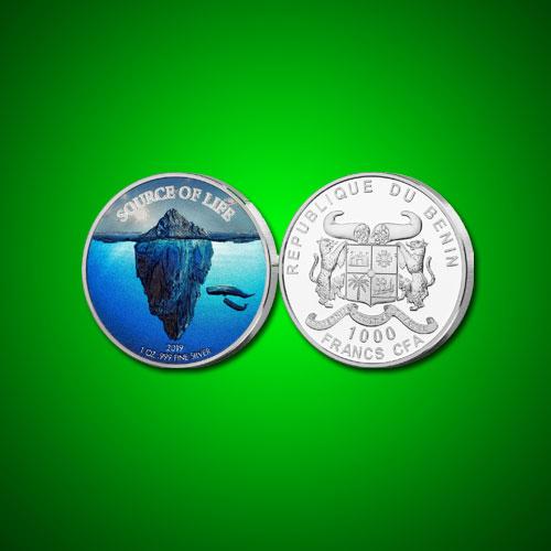 Ocean:-the-Source-of-Life-Coin-of-Benin