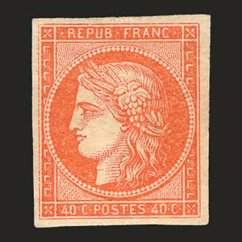 One-France-Vermilion-stamp-is-to-be-sold-for-51,518-dollars