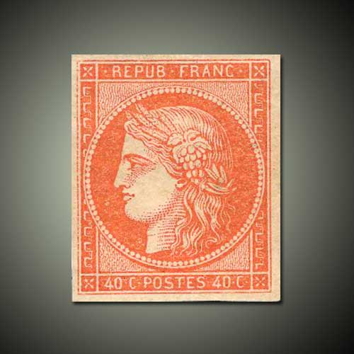 One-France-Vermilion-stamp-