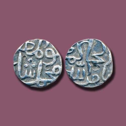 One-Sixth-Tanka-of-Muhammad-Shah-I-of-Bahamani-Sultanate