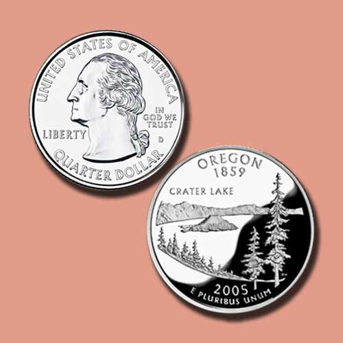 Oregan-State-Quarter-Dollar