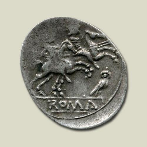 Owl-on-Roman-Coins
