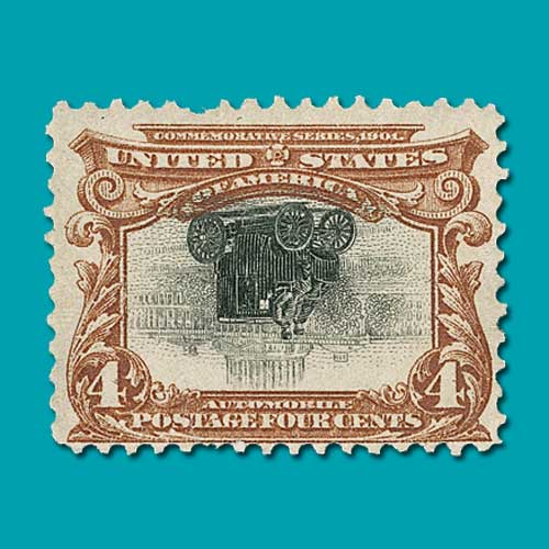 Pan-American-centre-inverted-stamp