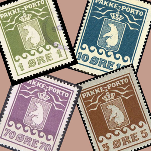 Parcel Post Stamps Of Greenland Mintage World