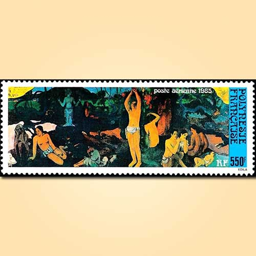 Paul-Gauguin's-Painting-on-Stamps