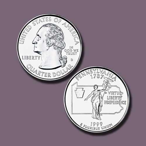 Pennsylvania-State-Quarter-Dollar