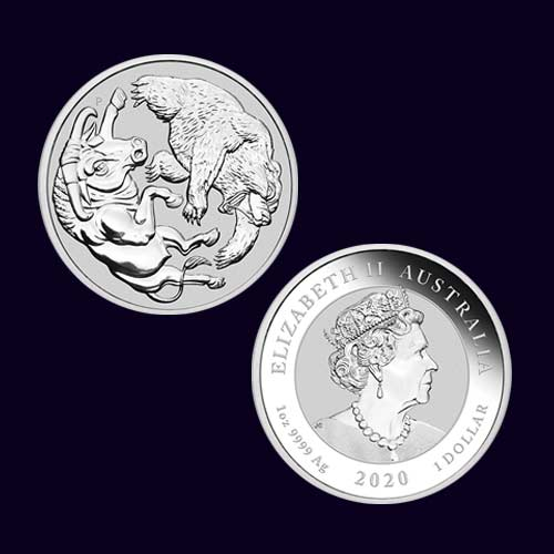 Perth-Mint's-Silver-Bull-and-Bear-Coin