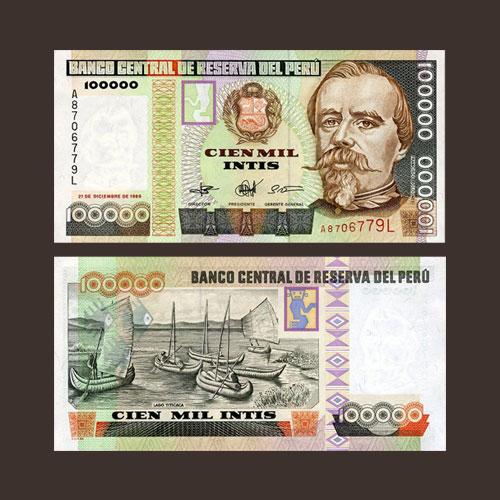 Peru-100000-Intis-banknote-of-1989