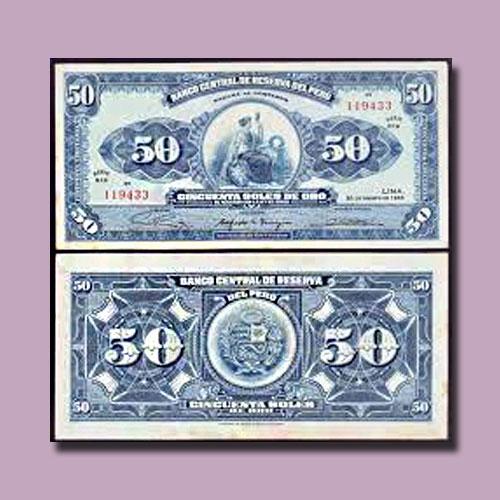 Peru-50-Soles-de-Oro-1965-banknote