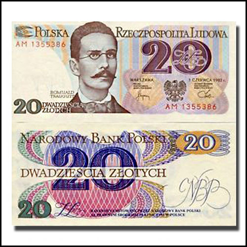 Poland-Twenty-Zloty-banknote-of-1982