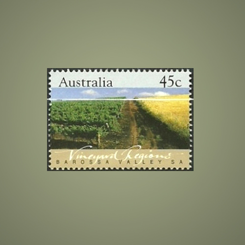 'Pop-and-Pour'--Australian-Wine-Stamp