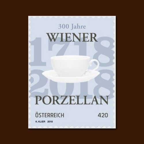 Porcelain-on-stamp