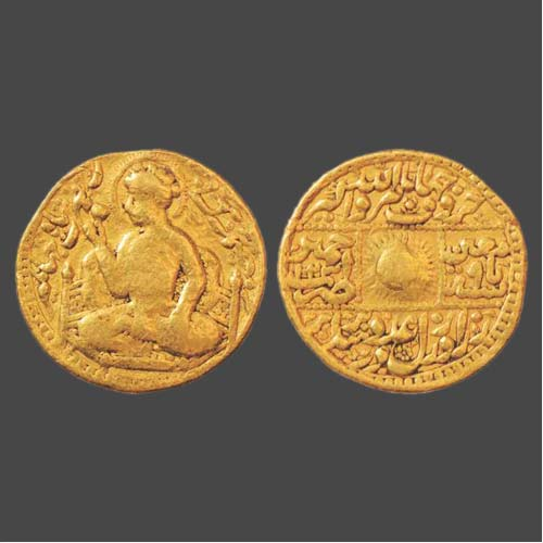 Portrait-Coin-of-Emperor-Jahangir-Sold-for-INR-45,00,000