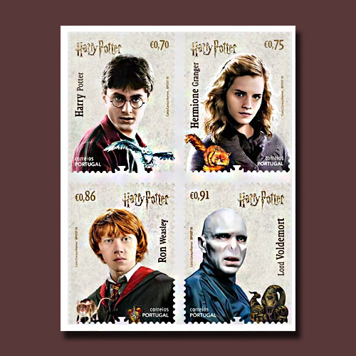 Portugal-Issues-New-Harry-Potter-Stamps