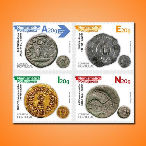 Portuguese-Numismatics-Stamp
